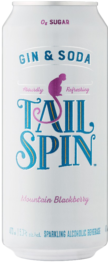 Tail Spin Blackberry Gin Smash